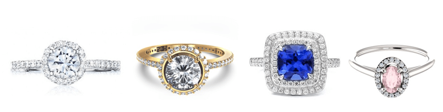 Examples of Solitaire engagement ring