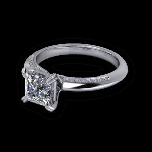 14kt white gold ring