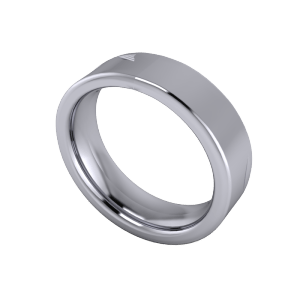 Flat comfort 6.5mm band