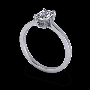 Decorative diamond setting