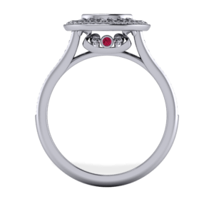marquise, skull, diamond, halo, cathedral