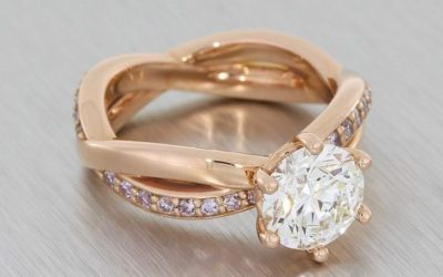 Six Reasons to Choose a Bespoke Rose Gold Engagement Ring